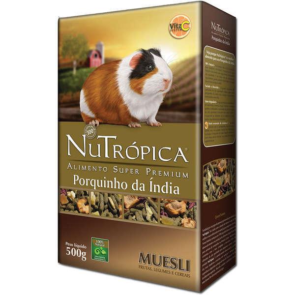 Ração nutrópica para porquinho da índia muesli 500g