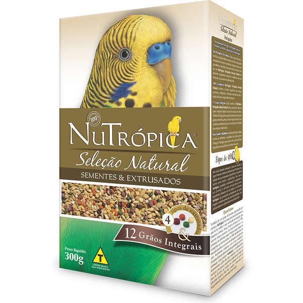 Ração nutrópica seleção natural para periquito 300g