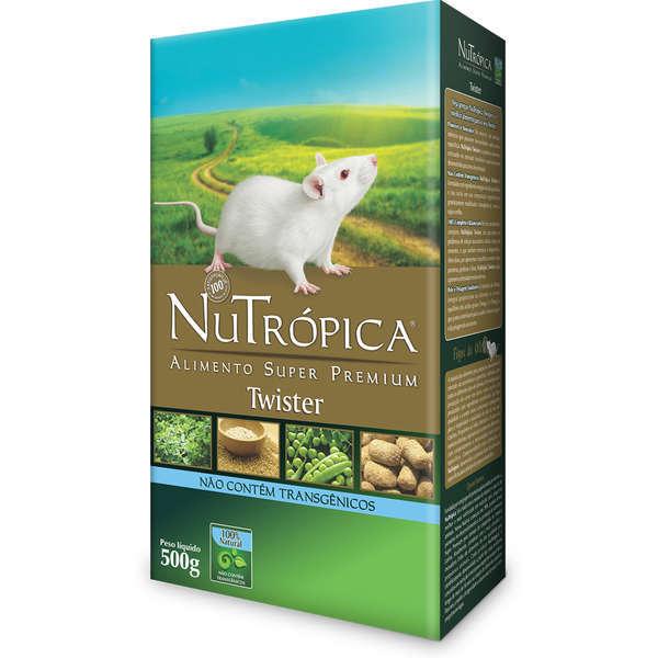Ração nutrópica twister para hamster 500g
