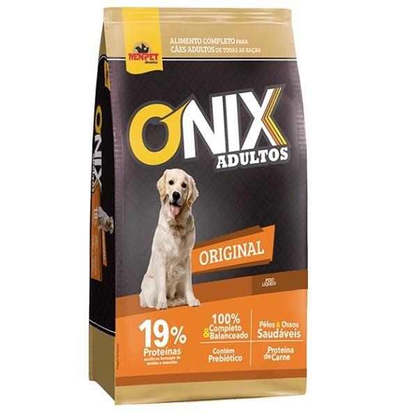 Ração onix original cães adulto sabor carne