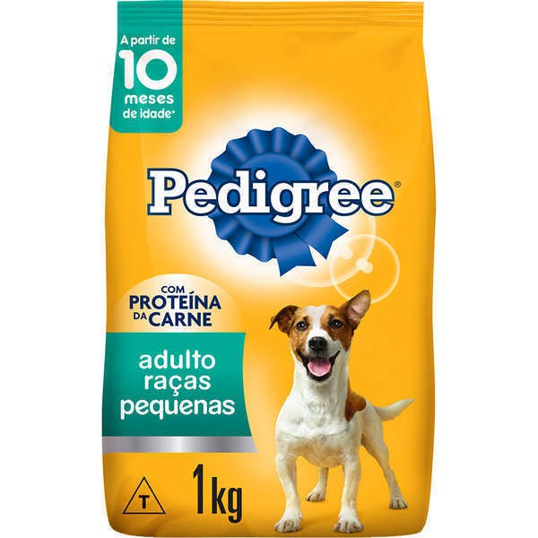 Ração pedigree adulto para cães raças pequenas