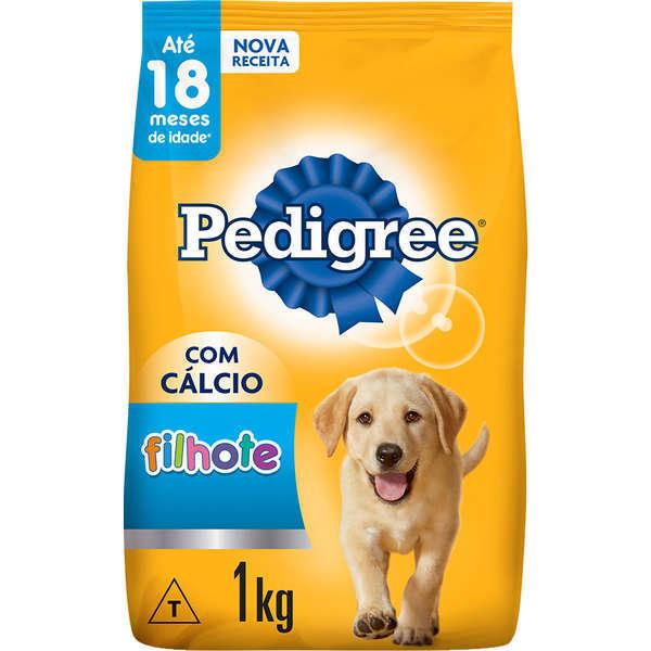 Ração pedigree filhotes para cães raças médias e grandes