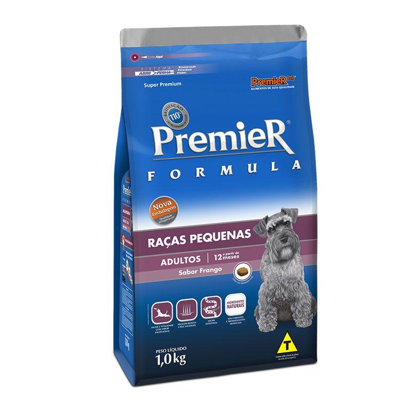 Ração Premier Formula Frango para Cães Adultos Raças Pequenas