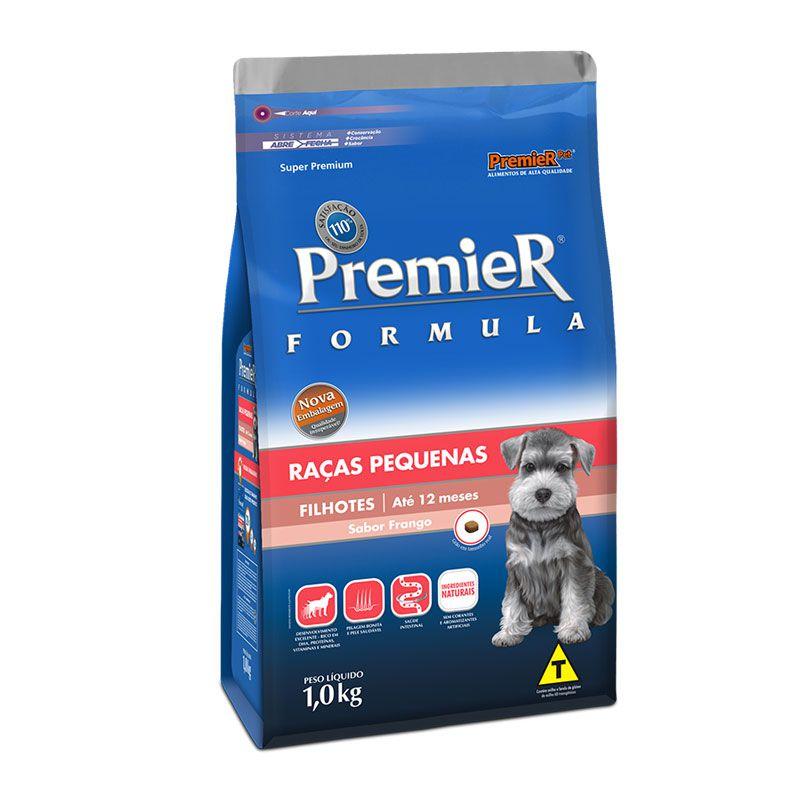 Ração Premier Formula Frango para Cães Filhotes Raças Pequenas