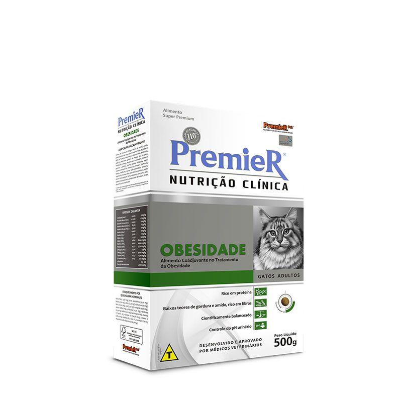 Ração Premier Nutrição Clínica Obesidade para Gatos Adultos