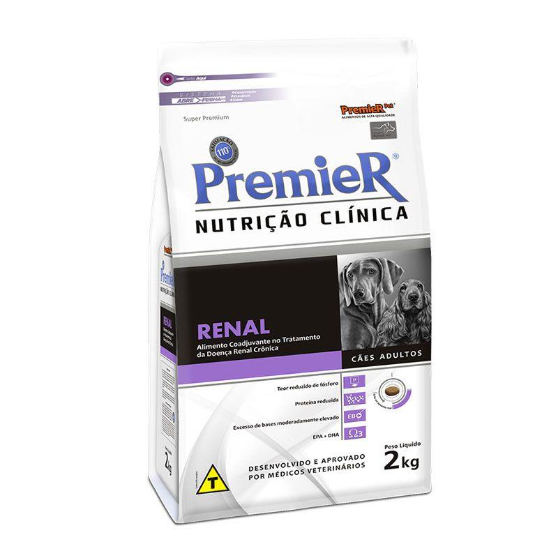 Ração Premier Nutrição Clínica Renal para Cães Adultos