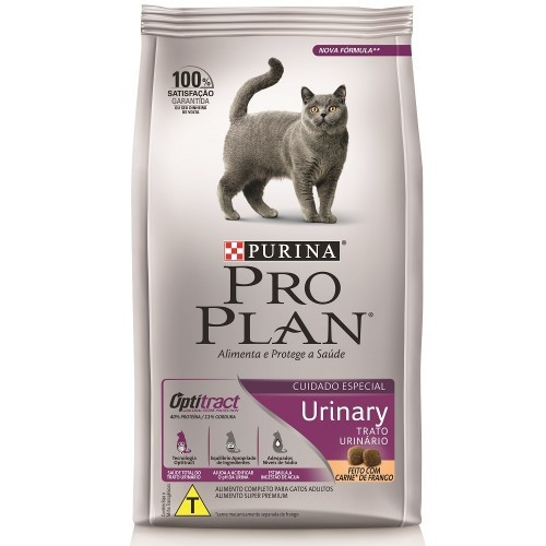 Ração purina pro plan gato adulto urinary 1.5kg