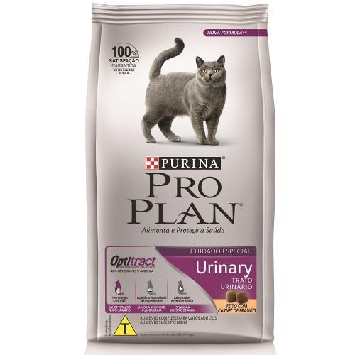 Ração purina pro plan gato adulto urinary 1.5kg
