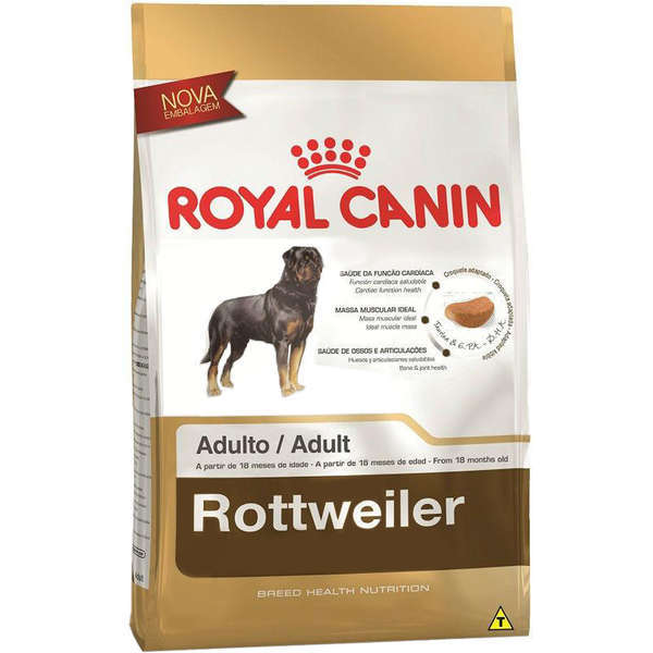 Ração royal canin caes adulto rottweiler 12kg