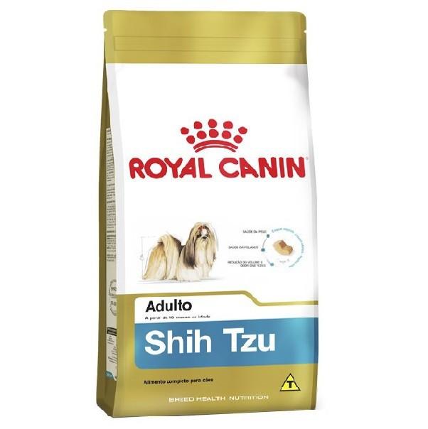 Ração royal canin cães adulto shih tzu 1kg