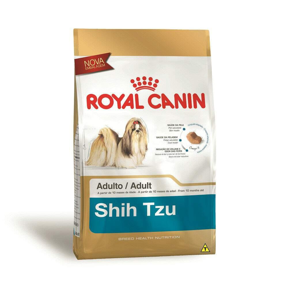 Ração royal canin cães adulto shih tzu