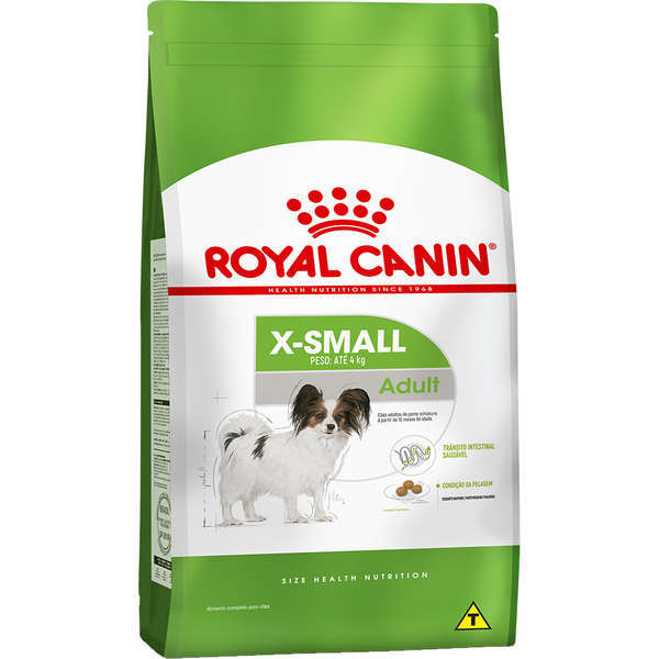 Ração royal canin cães adulto x-small