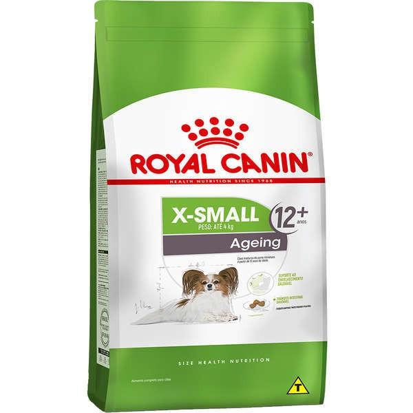 Ração royal canin cães adulto x-small ageing 12+