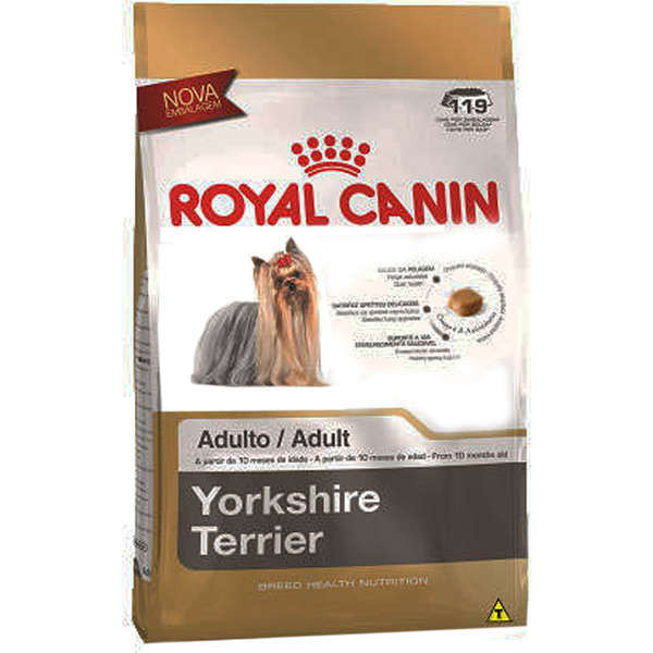 Ração royal canin cães adulto yorkshire
