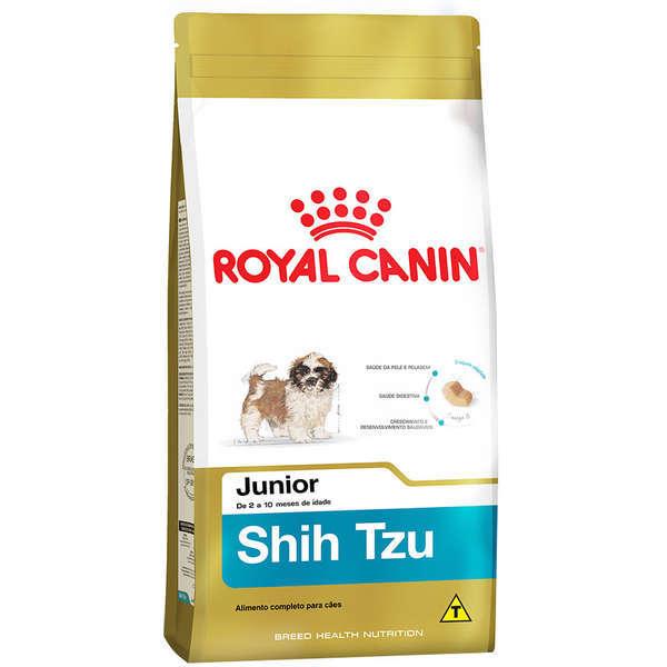 Ração royal canin cães filhote shih tzu 1kg