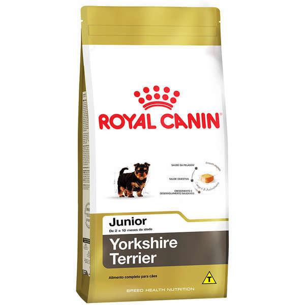 Ração royal canin cães filhote yorkshire 1kg
