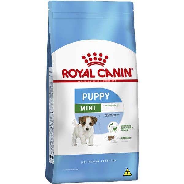 Ração royal canin cães mini junior para filhotes raças pequenas