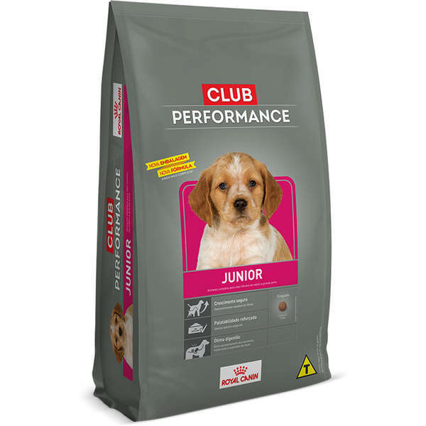 Ração royal canin club performance filhote 15kg