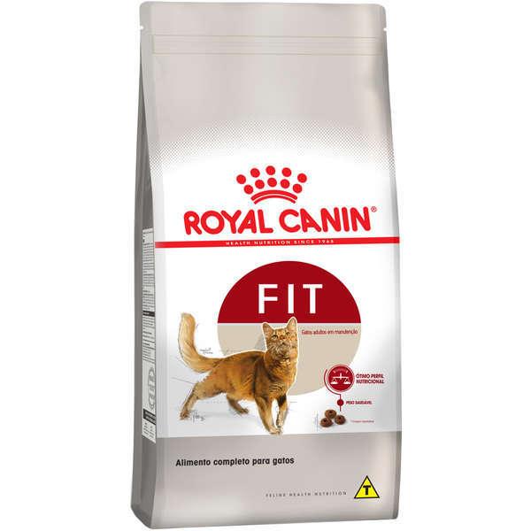 Ração royal canin gatos adulto fit 400g