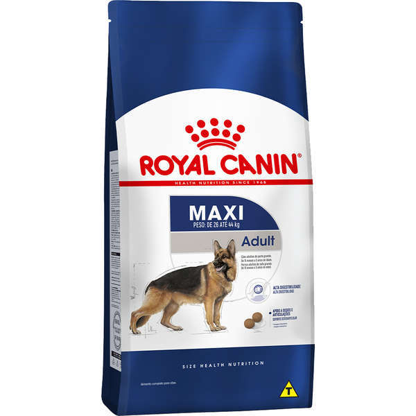 Ração royal canin maxi cães adulto para raças grandes 15kg