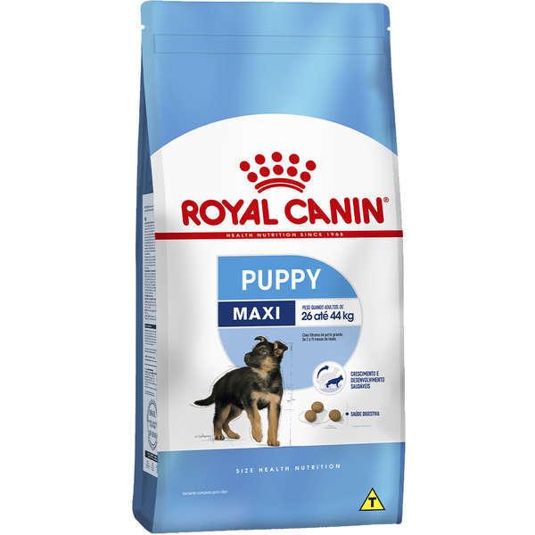 Ração royal canin maxi cães filhote para raças grandes 15kg