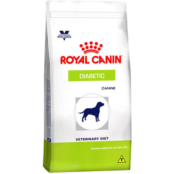 Ração royal canin veterinary cães diabetic