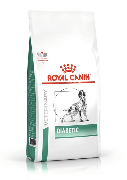 Ração royal canin veterinary cães diabetic