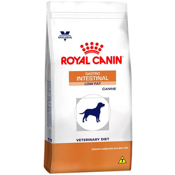 Ração royal canin veterinary cães gastro intestinal low fat