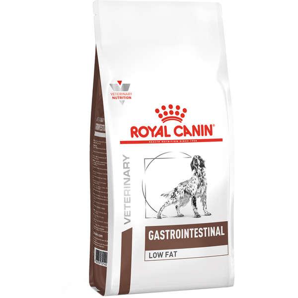 Ração royal canin veterinary cães gastro intestinal low fat