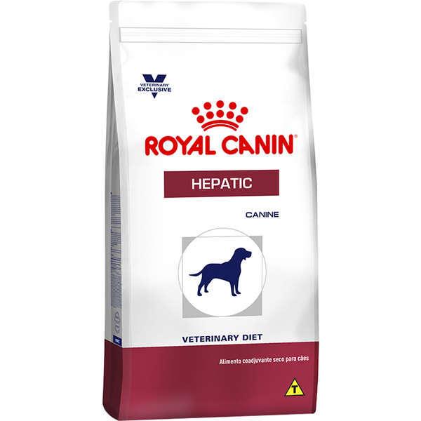 Ração royal canin veterinary cães hepatic