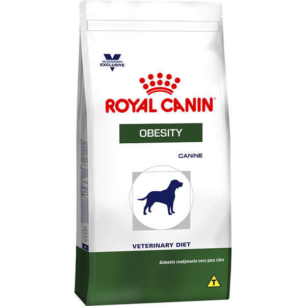 Ração royal canin veterinary cães obesity