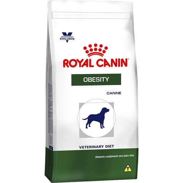 Ração royal canin veterinary cães obesity
