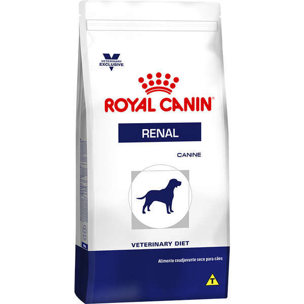 Ração royal canin veterinary cães renal