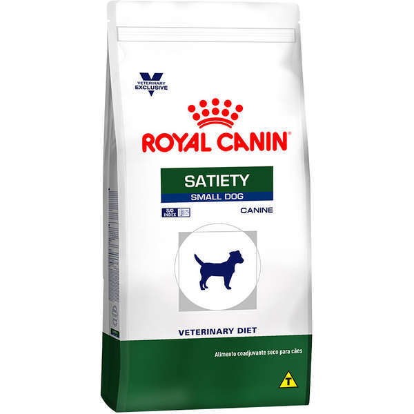 Ração royal canin veterinary cães satiety small