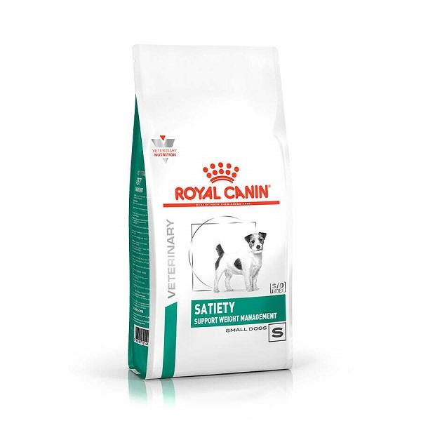 Ração royal canin veterinary cães satiety small