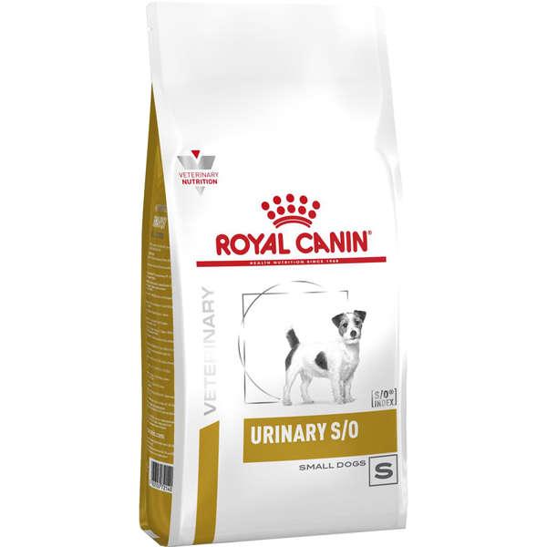 Ração royal canin veterinary cães urinary small