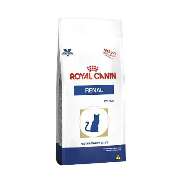 Ração royal canin veterinary gato renal