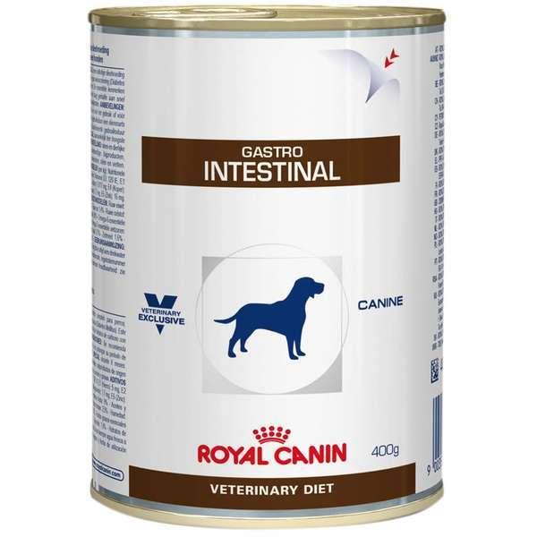 Ração royal canin veterinary lata cães gastro intestinal 400g