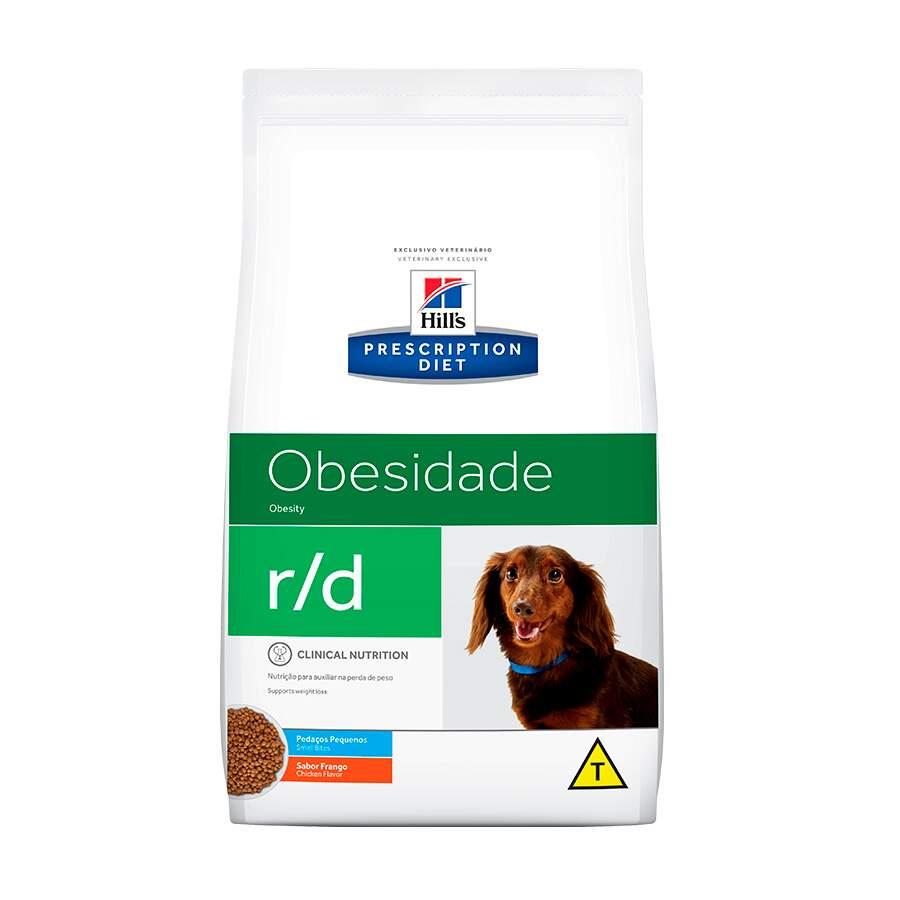 Ração Seca Hills Prescriptions Diet r/d Pedaços Pequenos Redução de Peso para Cães Adultos