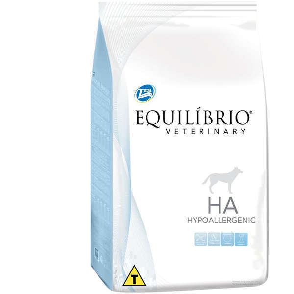 Ração total equilibrio veterinary hypoallergenic para cães