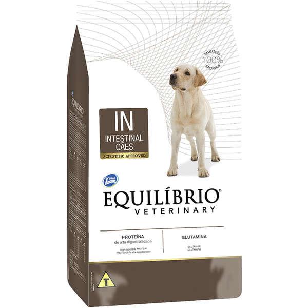 Ração total equilibrio veterinary intestinal para cães