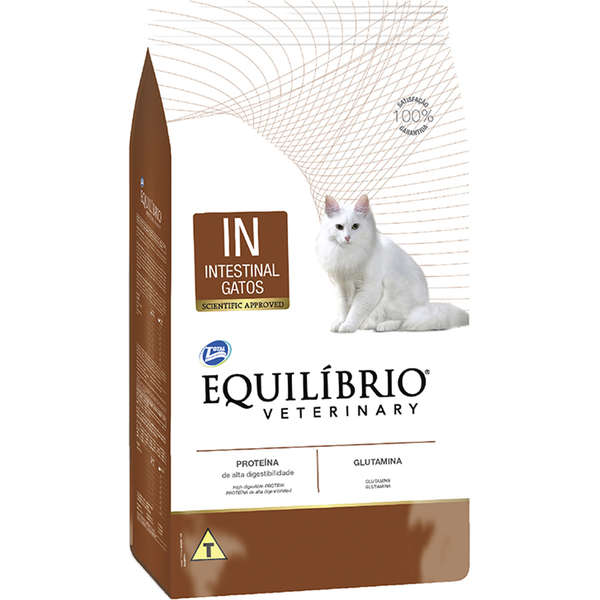 Ração total equilibrio veterinary intestinal para gatos 500g