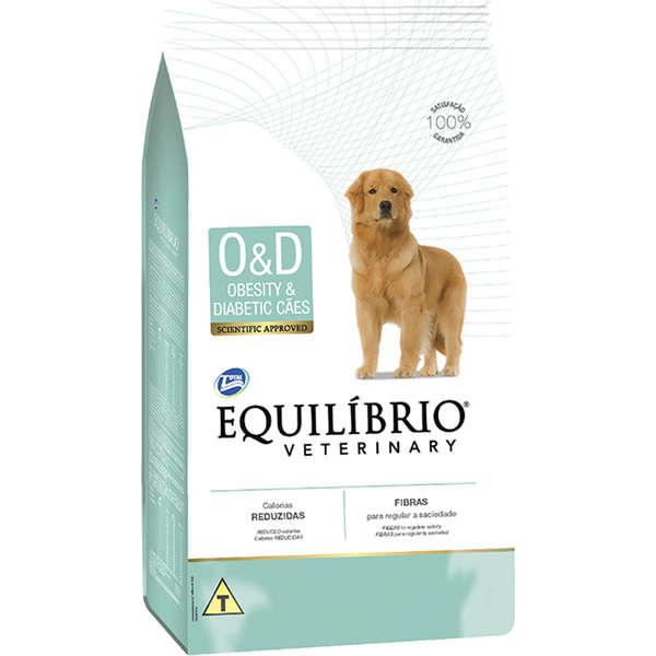 Ração total equilibrio veterinary obesity e diabetic para cães
