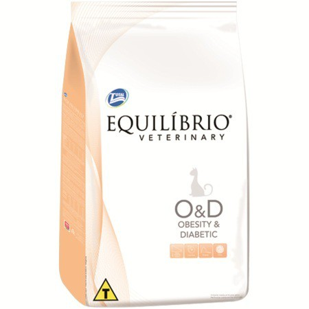 Ração total equilibrio veterinary obesity e diabetic para gatos 500g