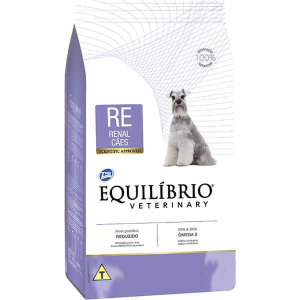 Ração total equilibrio veterinary renal para cães