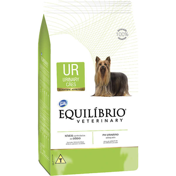 Ração total equilibrio veterinary urinary para cães