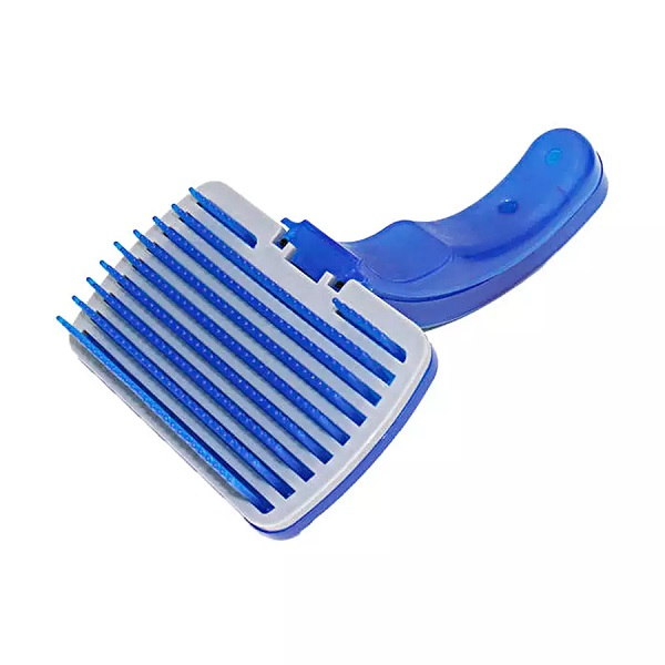 Rasqueadeira autolimpante pet brush