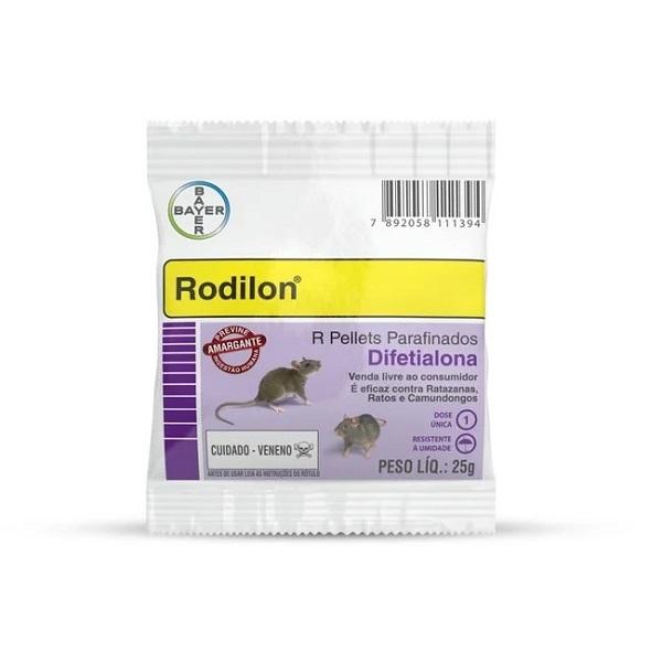 Raticida bayer rodilon 25g