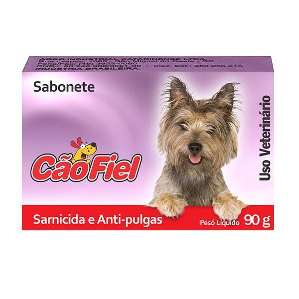 Sabonete cão fiel sarnicida e antipulgas 90g