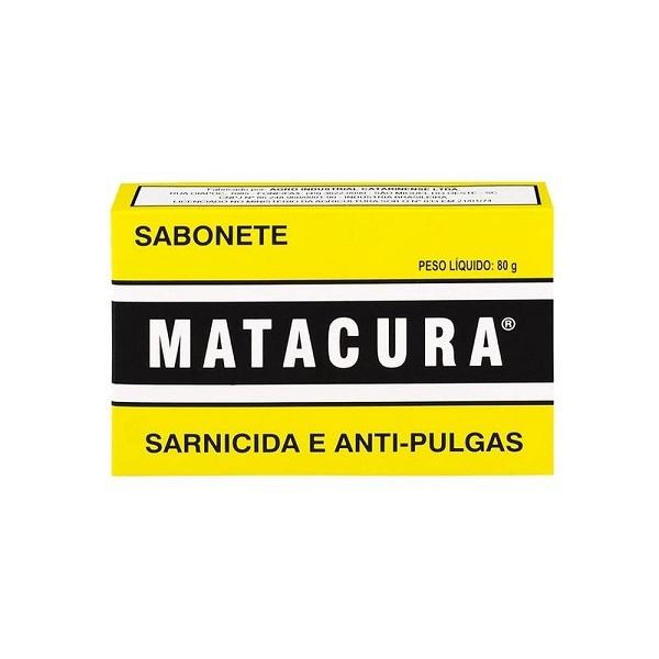 Sabonete matacura sarnicida e antipulgas 80g